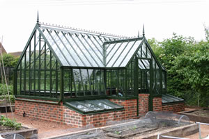 Alitex Traditional greenhouse with lobby